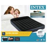 Intex 64148 Pillow Full 2-Persoons Luchtbed 137x191x25 cm Zwart_