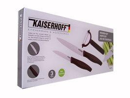 Kaiserhoff Keramische messenset (3 delig)