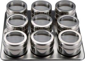 Masterpro RVS magnetisch kruidenrek