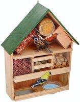 Luxe vogelvoederhuis 44x12x39cm