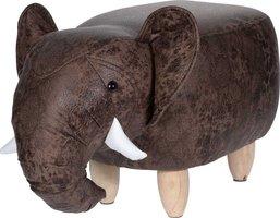 Poef olifant - voetenbank