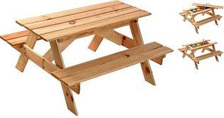 Kinder Picknicktafel - 90x85x46cm