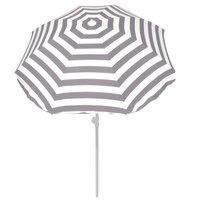 Summertime Parasol 180 cm Grijs/Wit