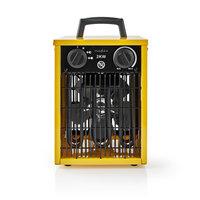 Nedis HTIF10FYW Industriële Ventilatorkachel Thermostaat 3 Standen 2000 W Geel