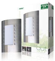 Ranex RX1021 Buiten Muurlamp RVS E27 IP44