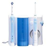 Oral B Health Center WaterJet Cleaning System + PRO 700 Elektrische Tandenborstel Wit/Blauw