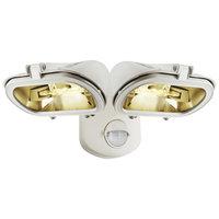 Smartwares ES128W/2 Dubbele Halogeen Floodlight Schijnwerper + Sensor 31.6x13.8x23.3 cm