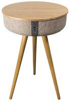 Salora Houten AirTable Speakertafel + Microfoon 41x64.5cm Hout/Beige