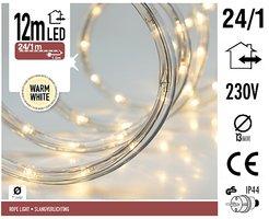 LED lichtslang 12 meter warm wit