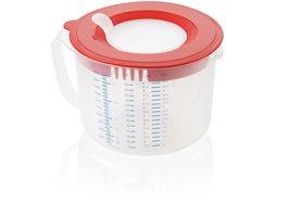 Leifheit 3169 3in1 Maatbeker Measure & Store 2,2 L