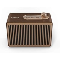 Philips TAVS300/00 Retro Bluetooth Luidspreker Geelkoper/Hout