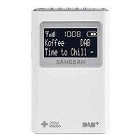 Sangean DPR-39 Draagbare Radio Wit