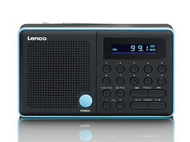 Lenco MPR-034 Draagbare Radio Blauw