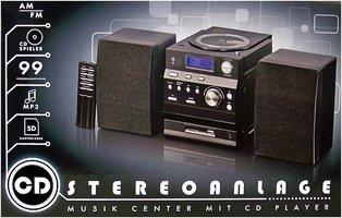 Microset met Radio / CD-speler en afstandsbediening