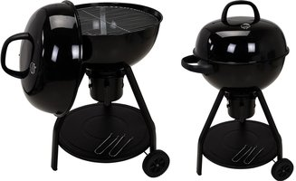 Luxe houtskool barbecue met thermometer