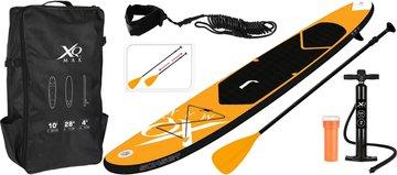 XQ Max SUP Board Set - Opblaasbaar - 305x71x10cm - oranje