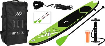 SUP Board Set - Opblaasbaar - 320x76x15cm - lime