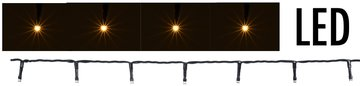 LED-verlichting USB - 240 LED's - warm wit