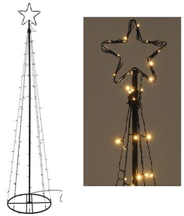 Kerstpiramide - 120cm