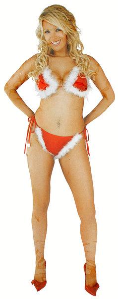 Sexy kerstbikini