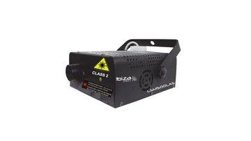 Ibiza LSM500LAS 2in1 500w Rookmaschine Met Ingebouwde Roodgroene 130mw Laser