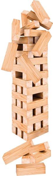 Stapeltoren XXL - hout - 60 delig