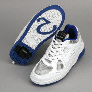 Mapleaf Fashion Roller Sneakers 38 Wit/Blauw
