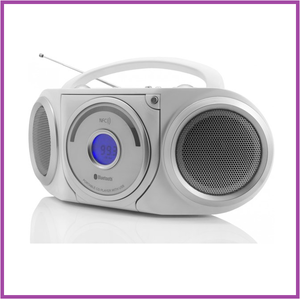 Soundmaster RCD5000WS Stereo radio CD/MP3-speler met Bluetooth en NFC