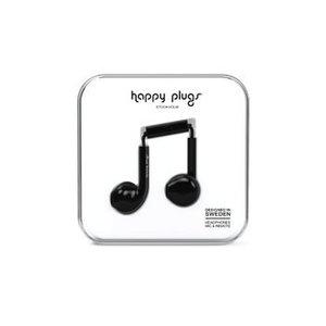 Happy Plugs Hoofdtelefoon Earbud Plus Zwart