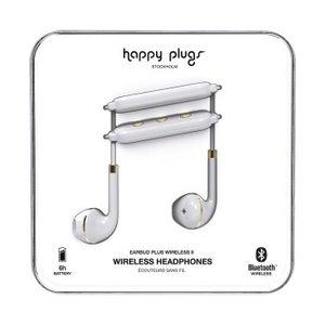 Happy Plugs Hoofdtelefoon Earbud Plus II BT Wit