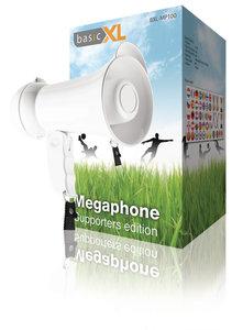 Basicxl Bxl-mp100 Megafoon Supporters-editie