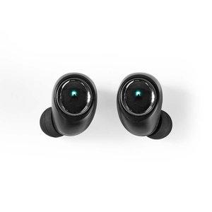 Nedis HPBT5051BK Draadloze Koptelefoon Bluetooth® In-ear True Wireless Stereo (tws) Voice Control