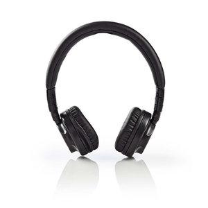 Nedis HPWD2100BK Hoofdtelefoon Met Snoer On-ear Opvouwbaar 1,2 M Loskoppelbare Kabel Zwart