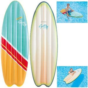 Intex Surf's Up Luchtbed 178x69cm Assorti