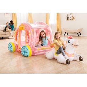 Intex 56514NP Opblaasbare Prinsessenkoets met Paard