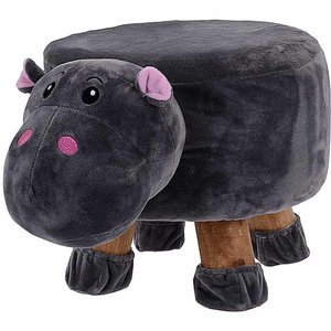 Kinderkruk - 25 cm hoog - nijlpaard