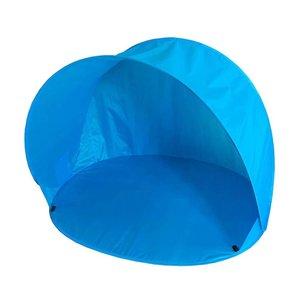 Summertime Pop-Up Beachshelter Blauw + Tas 150x110x100 cm